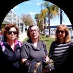Mª ÁNGELES, CARMEN Y ANA LUISA