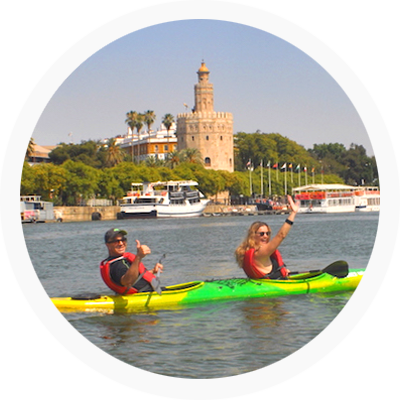 Teambuilding original tour en kayak